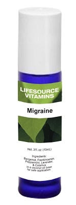 Migraine Rescue Blend-  Roll-On 10 ml-  LifeSource Essential Oils