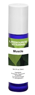 Muscle Soother Blend-  Roll-On 10 ml-  LifeSource Essential Oils