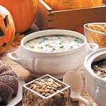 Creamy Chicken and Wild Rice Soup - Recipes