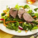 Herbed Pork Medallions with Asparagus Salad - Recipes