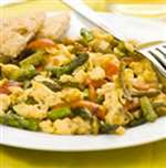 Mediterranean Veggie Scramble - Recipes