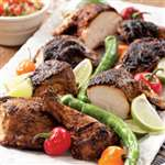 Butterflied Grilled Chicken with a Chile-Lime Rub - Recipes