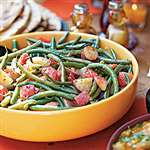 Green Beans & Potatoes in Chunky Tomato Sauce - Recipes