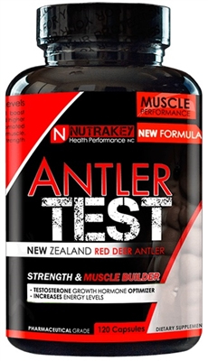 NutraKey Antler Test - Red Deer Antler- 120 Caps