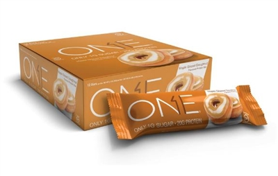 ONE - Maple Glazed Doughnut - Case 12 - 2.12 oz bars