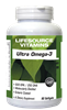 Ultra Omega 3 - 500 EPA / 250 DHA - 90 Softgels