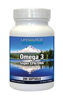 Omega 3 - 200 Softgels VALUE SIZE