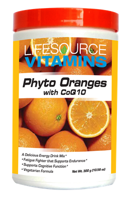 Phyto Oranges w/CoQ10 - Powder 10 oz.