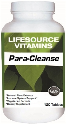 Para-Cleanse - Remove Parasites Safely - 120 Tablets