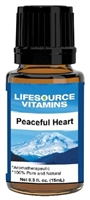 Peaceful Heart Blend-  0.5 fl oz-  LifeSource Essential Oils