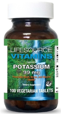 Potassium Gluconate 99 mg- 100 Vegetarian Tablets