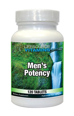 Men's Potency - 120 Tabs - Proprietary Formula VALUE SIZE