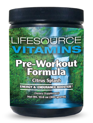 Pre-Workout Formula- Citrus Splash- 10.6 oz