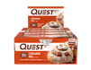 QuestBar - Cinnamon Roll case of 12 - 2.12 oz Bars