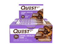 Quest - Caramel Chocolate Chunk - Case of 12 - 2.12 oz Bars