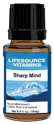 Sharp Mind Blend-  0.5 fl oz-  LifeSource Essential Oils