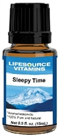 Sleepy Time Blend-  0.5 fl oz-  LifeSource Essential Oils