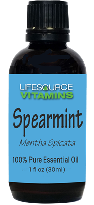 Spearmint 1 fl oz-  LifeSource Essential Oils
