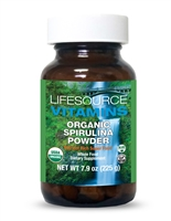 Spirulina Powder (Organic), 7.9 oz