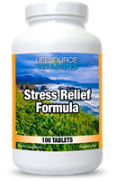 Stress & Anxiety Relief Formula - 100 Tablets - Proprietary Formula