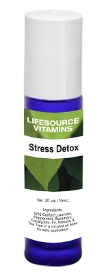 Stress Detox Blend-  Roll-On 10 ml-  LifeSource Essential Oils