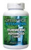 Turmeric Advanced - 750mg - 60 Vegetable Capsules - Curcumin With BioPereine (Black Pepper Fruit Extract)