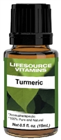 Turmeric Oil - 0.5 fl oz-  LifeSource Essential Oils (Curcumin)