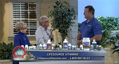 Bruce Brightman - New Year - New You.  Founder - LifeSource Vitamins on The Herman & Sharron Show