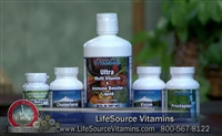 Bruce Brightman - Vitamins Made Easy!  Founder - LifeSource Vitamins On The Herman & Sharron Show