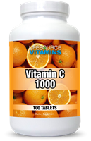 Vitamin C 1000 mg- 100 Tablets