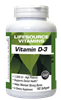 Vitamin D-3 25 mcg (1,000 IU) - 180 Softgels