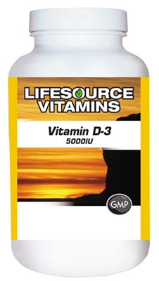 Vitamin D-3 5,000 IU - 120 Softgels