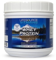 Whey Protein ISOLATE - Grass Fed - Double Chocolate Fudge 1.1lb