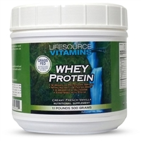 Whey Protein ISOLATE - Grass Fed - Creamy French Vanilla 1.1lb.