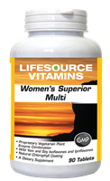 Women's Superior Multivitamins & Minerals - 90 Tabs - Ages: 20's, 30 & 40's - Child Bearing Years
