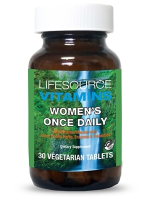 Women's Once Daily Multi - 30 Veg Tablets - Whole Food Based