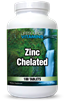 Zinc Chelated 50 mg - 100 Tablets - (Amino Acid Chelated)