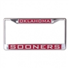 Oklahoma Sooners License Plate Frame