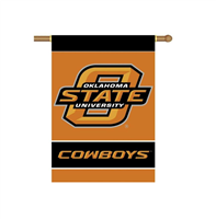 "Oklahoma State University 28"" x 40"" Banner"