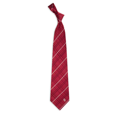 Tie-Oklahoma Oxford Woven Eagles Wings