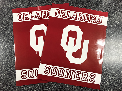Oklahoma Sooners Folder