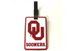 University of Oklahoma Luggage Tag