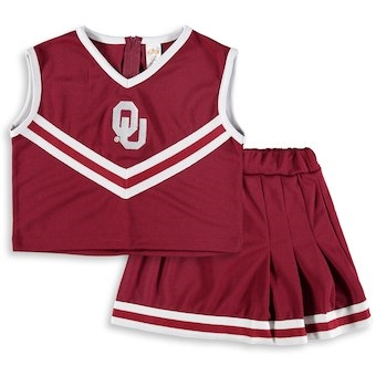 Oklahoma Sooners Kids Cheer Dress