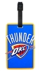 NBA Oklahoma City Thunder Rubber Luggage Tag