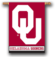 "Oklahoma Sooners University 28"" x 40"" Banner Flag"