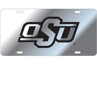 Oklahoma State Mirrored License Plate