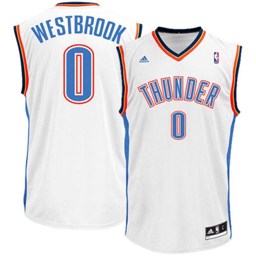 finest selection f97f0 ca741 Oklahoma City Thunder Westbrook Replica Jersey