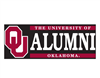 University of Oklahoma Alumni W/ OU Vinyl Decal