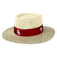 separation shoes ee4a0 c4630 ... Oklahoma Sooners Straw Sand Trap Hat