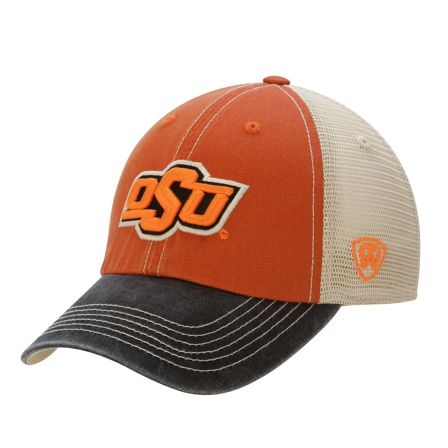 cheap for discount first look official shop Oklahoma State Offroad Trucker Adjustable Hat